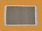 8/3 Black Checkered Design